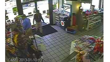 Anne Arundel County police said they are looking for persons of interest in a Glen Burnie theft.