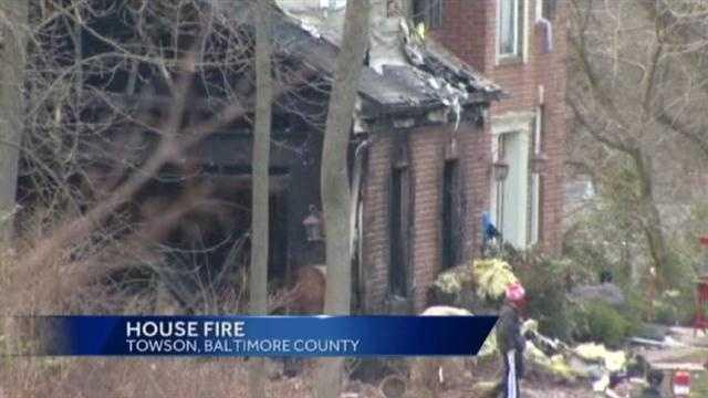 Hampton house fire