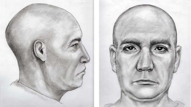 Sketch of remains found in Back River