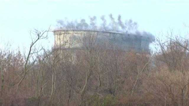 GAS TOWER IMPLOSION