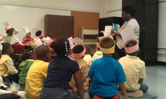 The same type of reading enrichment is happening all over the country as part of Read Across America Day.