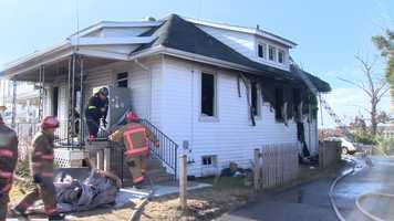 Firefighters were called around 8 a.m. to a house in the 3000 block of Putty Hill Avenue.
