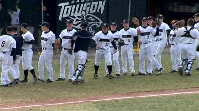 Baseball strikes out at Towson