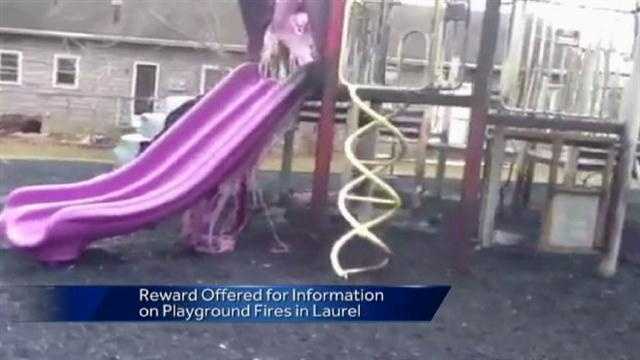 Laurel playground fire