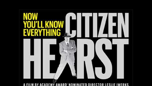 'Citizen Hearst' movie ad for blurbs