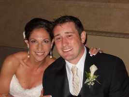 Sara Knutson, seen here at her wedding.
