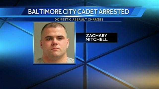 police cadet Zachary Mitchell