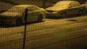 Cars were covered by 5 a.m. in Dundalk.