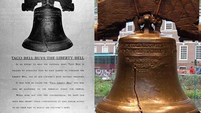 April Fools - Taco Bell Liberty Bell