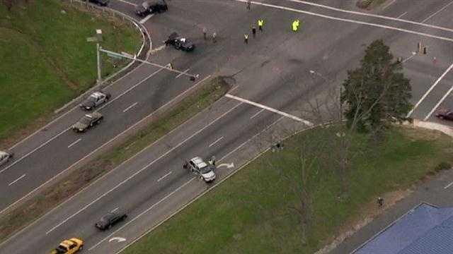 Trooper involved crash in Easton area