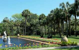 "6. Brookgreen Gardens -- Murrells Inlet, S.C.Opened in 1931, this ""Palmetto State"" wildlife preserve features the first sculpture park in the U.S. and is now a National Historic Landmark. Designed in the shape of a butterfly, themed gardens feature four seasons' worth of horticultural surprises, including perennials, roses, and a stunning array of shrubs and trees. Open year-round, tickets are $14 for adults, $12 for seniors and $7 for children ages 4-12&#x3B; children 3 and under get in free."
