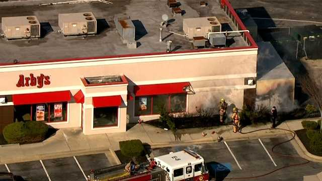 Arby's Nottingham fire