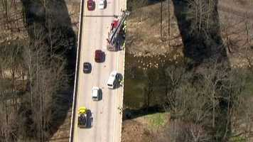 The exercise took place on the eastbound side of Interstate 70 at the border of Howard and Baltimore counties.