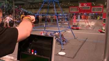 """""""We were in the shop from 3 p.m. to 8 p.m. every day for most of it,"""" said teammate Danny Beck. """"To overcome the difficulties that come with building a robot really brings us all together."""""""