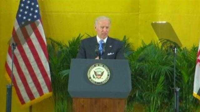 VP Joe Biden visits