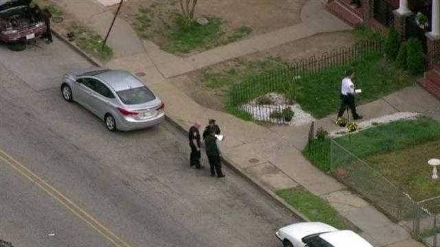Clifton Ave shooting scene