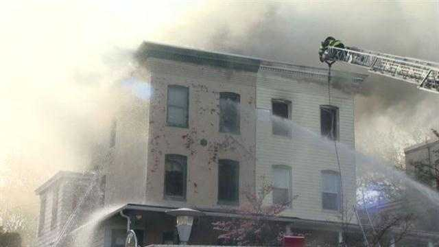 Augusta Ave fire