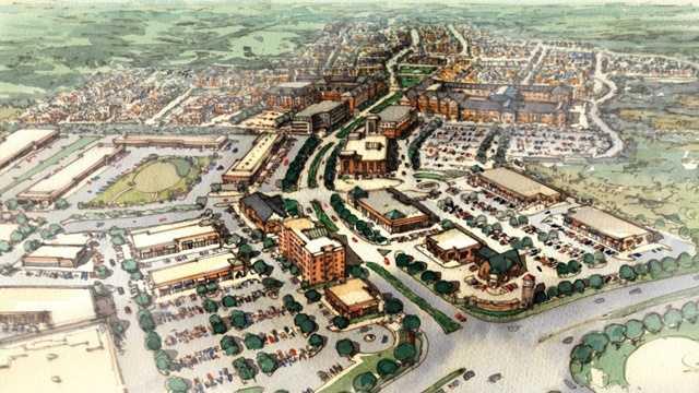 Greenleigh at Crossroads plan