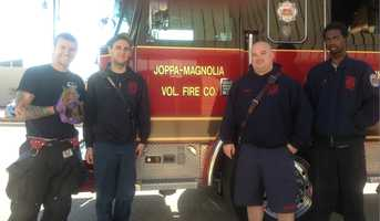 On Wednesday morning, the crew took the baby, which they named Pierce, to the Chadwell Animal Hospital.