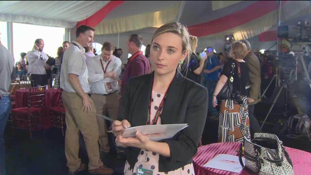 A 22-year-old Towson University student is getting ready to work her first Preakness and complete her final exams.  Kai Reed introduces us to Gabby Gaudet, the newest handicapper at Pimlico and Laurel.