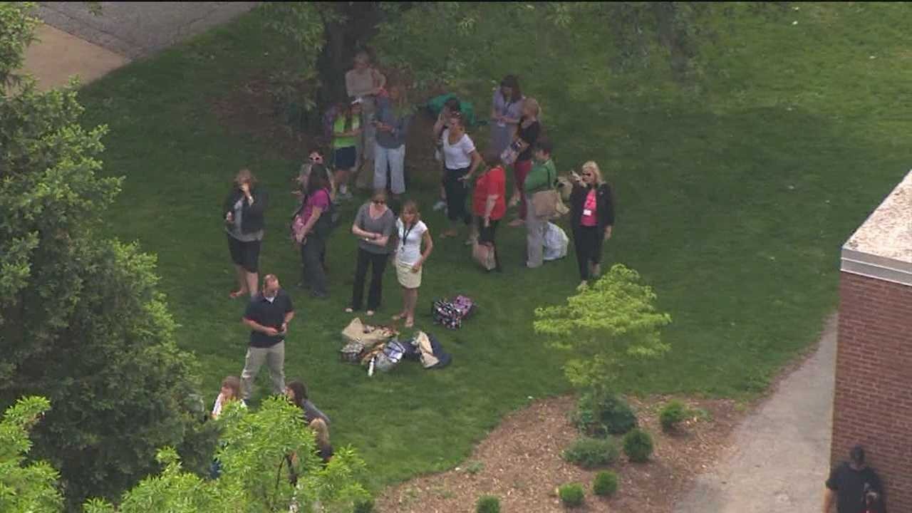 Elementary students evacuated after many fall ill