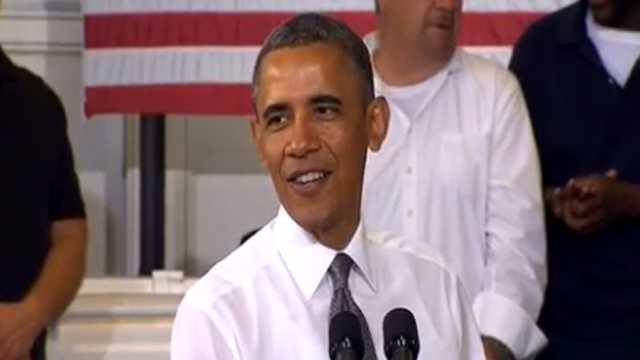 President Obama in Baltimore