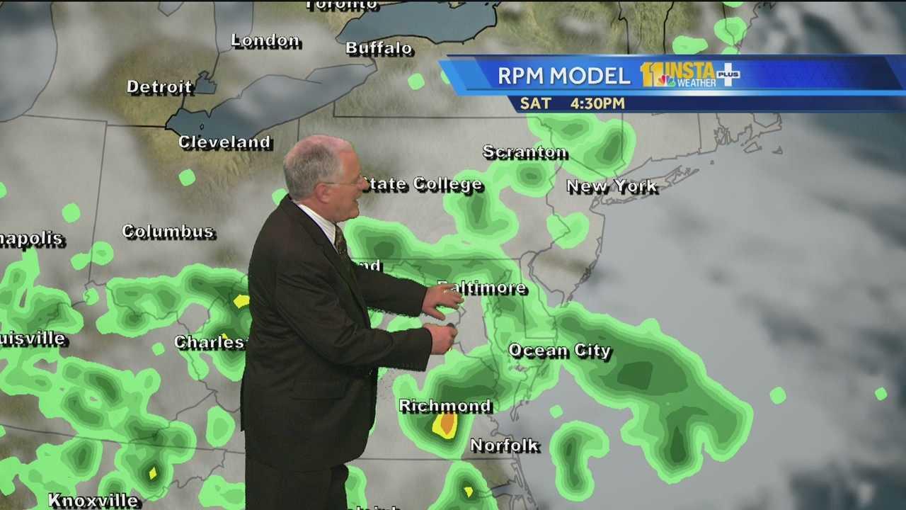 John's Preakness Weather Forecast