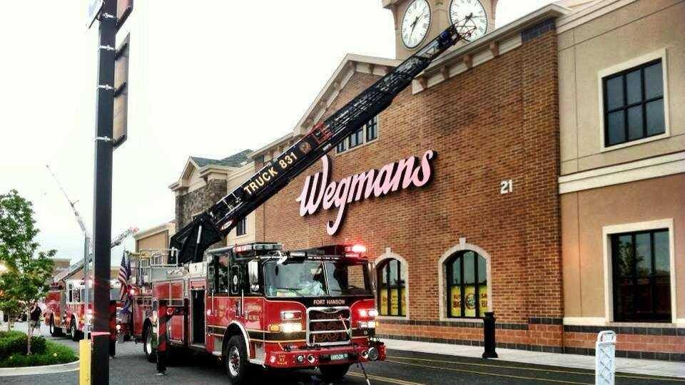 Wegmans fire