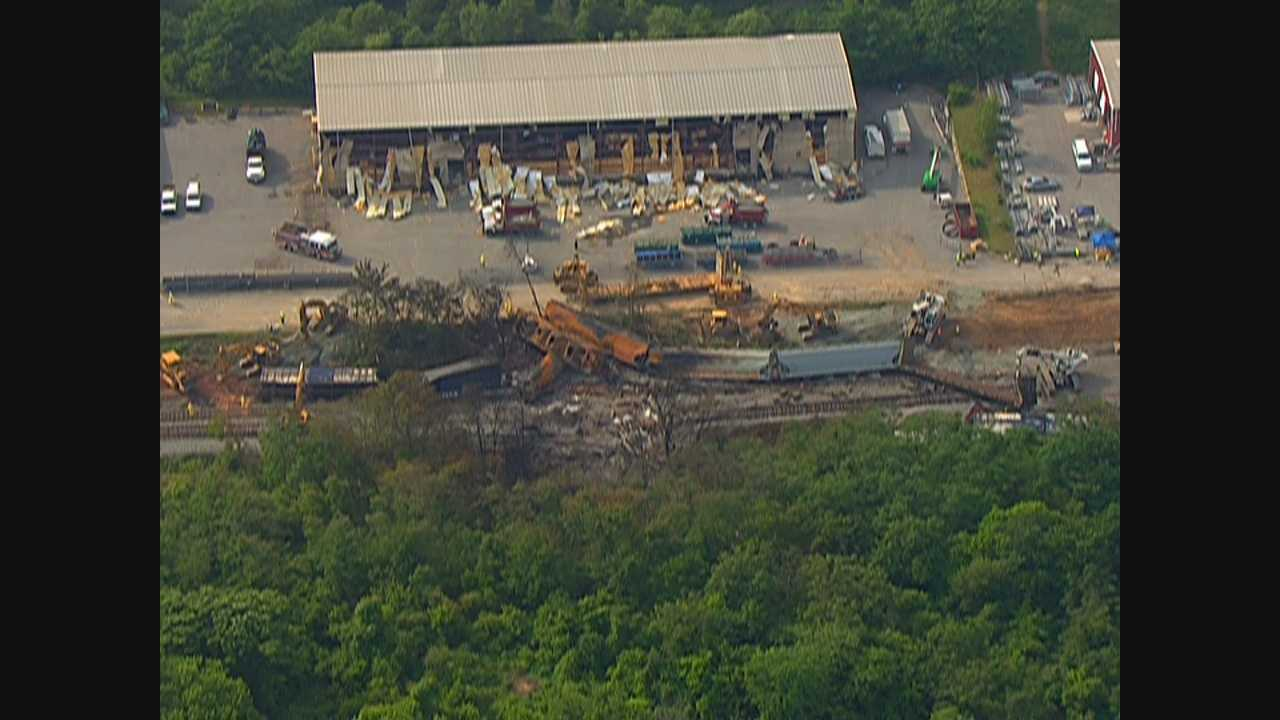 CSX cleans up as NTSB investigates derailment