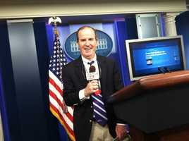 WBAL's Scott Wykoff reporting from the White House on the big day for the Ravens.