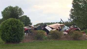 Howard County may have seen the worst of it, as a Woodbine family had to deal with the fallout from a possible tornado. Read the story here.