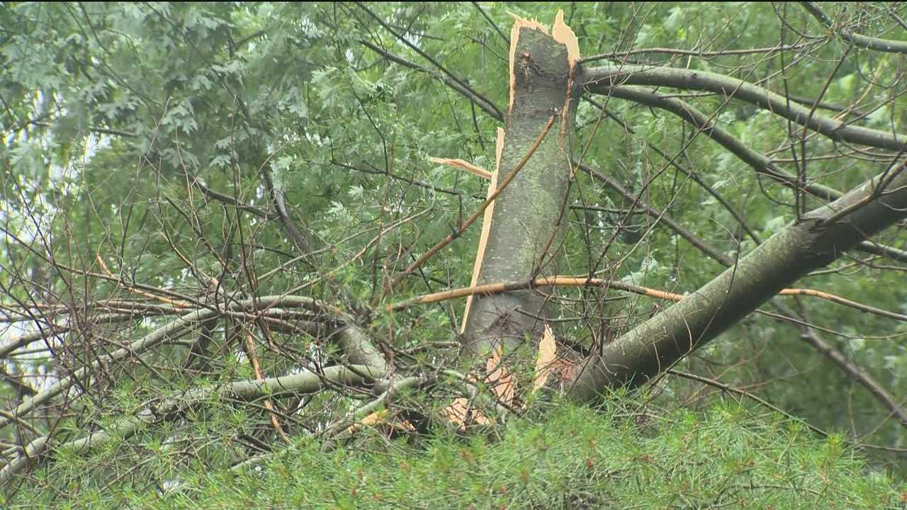 NWS again investigating possible tornado damage