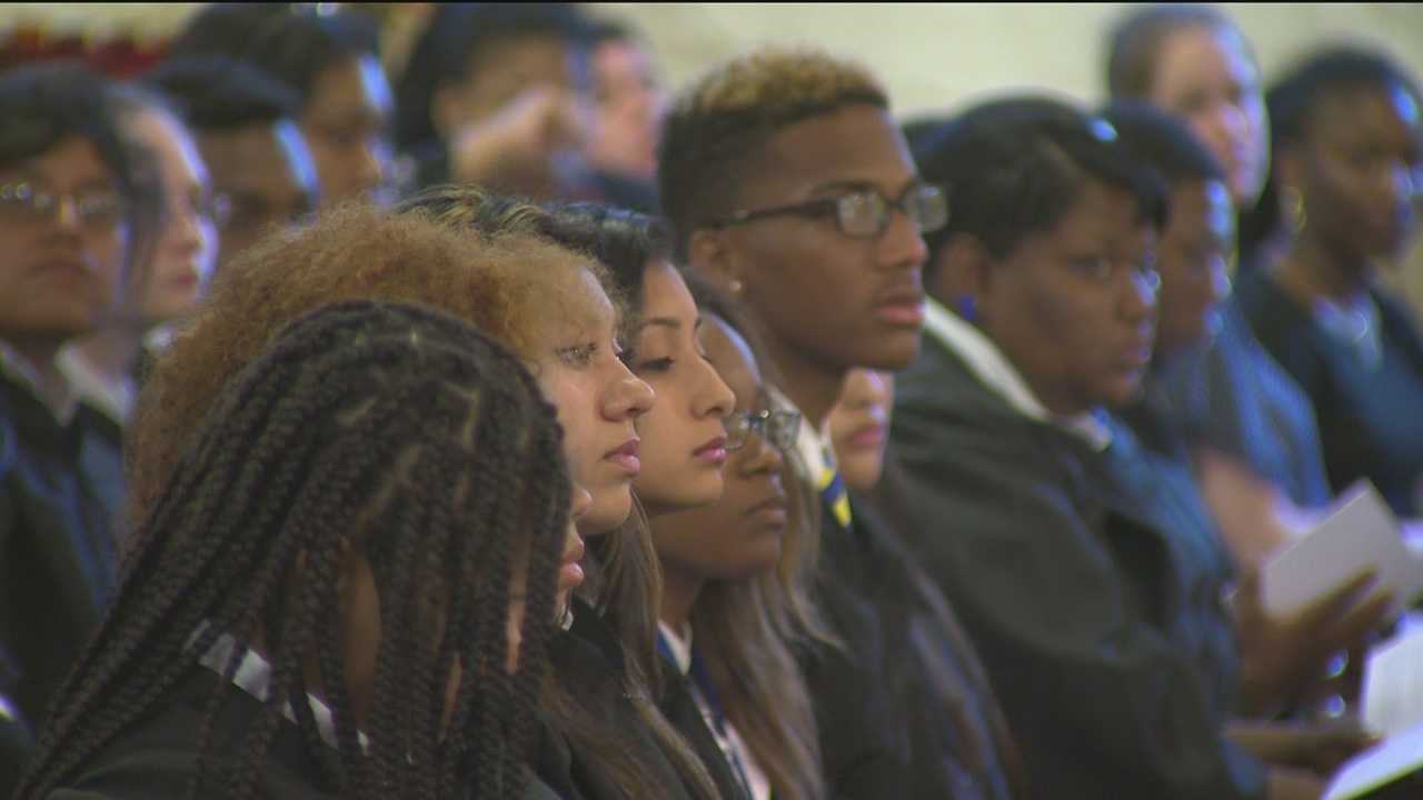 Graduates of a private Jesuit high school in Baltimore City are exceeding all expectations.