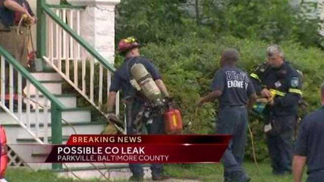 CO leak house