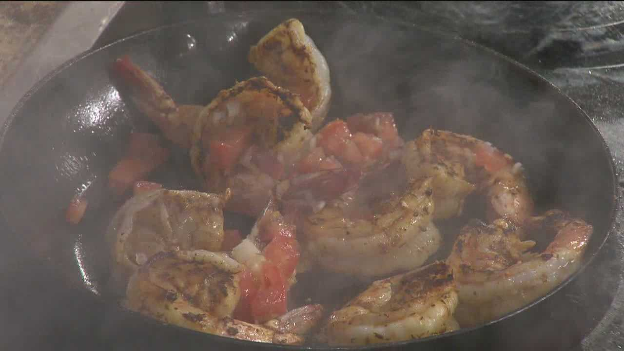 Sunday Brunch: Shrimp & grits from The Prime Rib