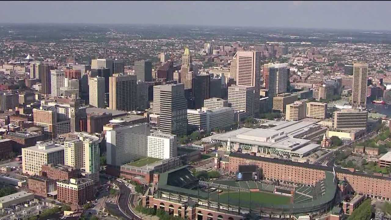 Baltimore mayor uses Rust Belt to attract more residents