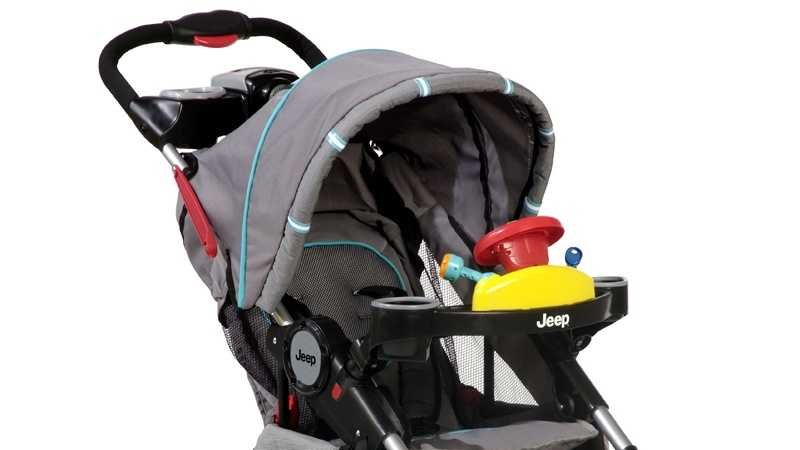 Jeep stroller recalled