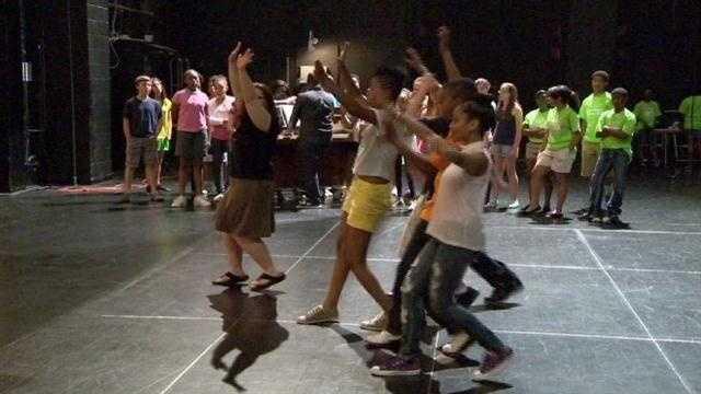 Camp Hippodrome challenges kids to prosper