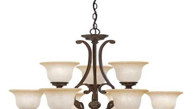 Aztec chandelier recall