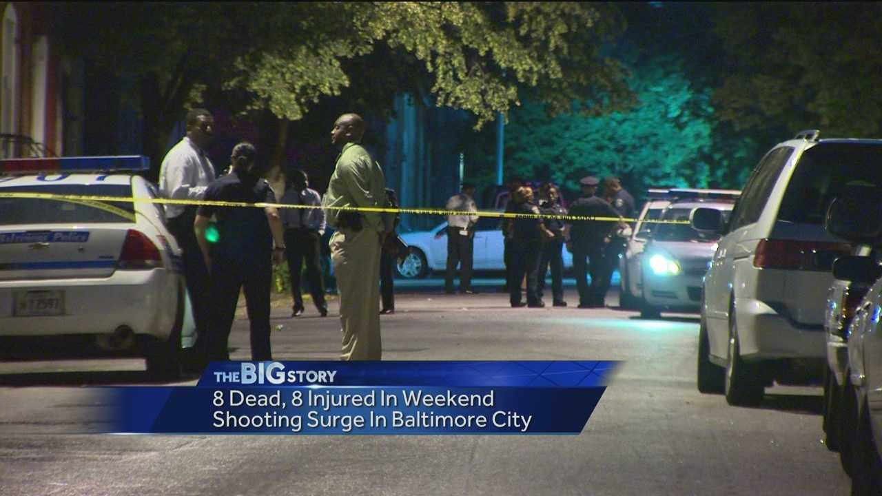 Police investigate rash of city shootings