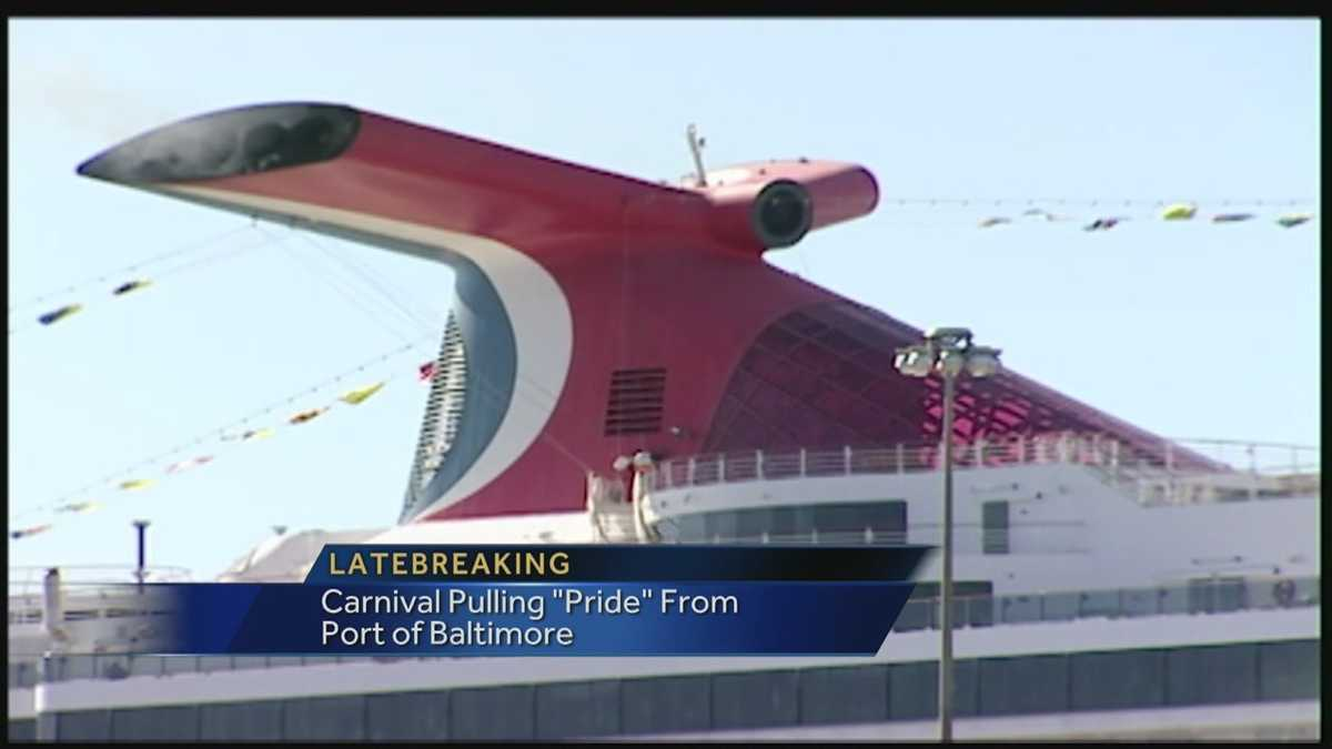 Carnival Cruise Lines To Leave Baltimore In 2014