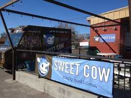 """Sweet Cow, Louisville, Colo. -- Made with locally-sourced ingredients, this mountainside dairy bar prides itself on being the cleanest ice cream shop on the planet and is also eco-friendly, using only compostable and recyclable materials. The menu boasts more than 140 flavors that rotate daily and seasonally. """"Good stop for ice cream lovers. Wonderful flavor choices. Very creamy delicious,"""" commented a TripAdvisor traveler."""
