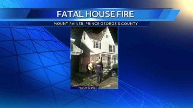 Mount Rainer fire