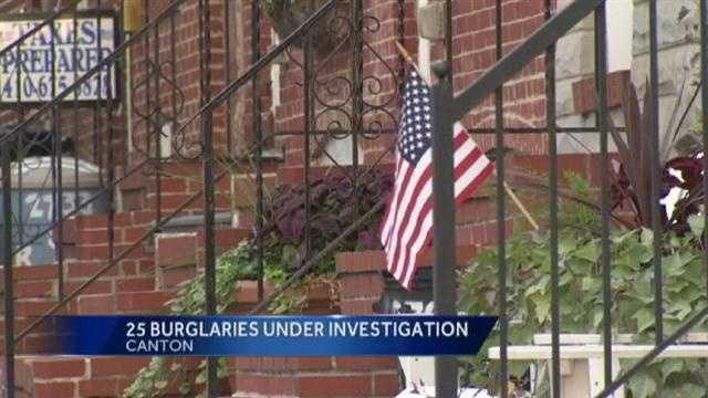 Canton burglaries