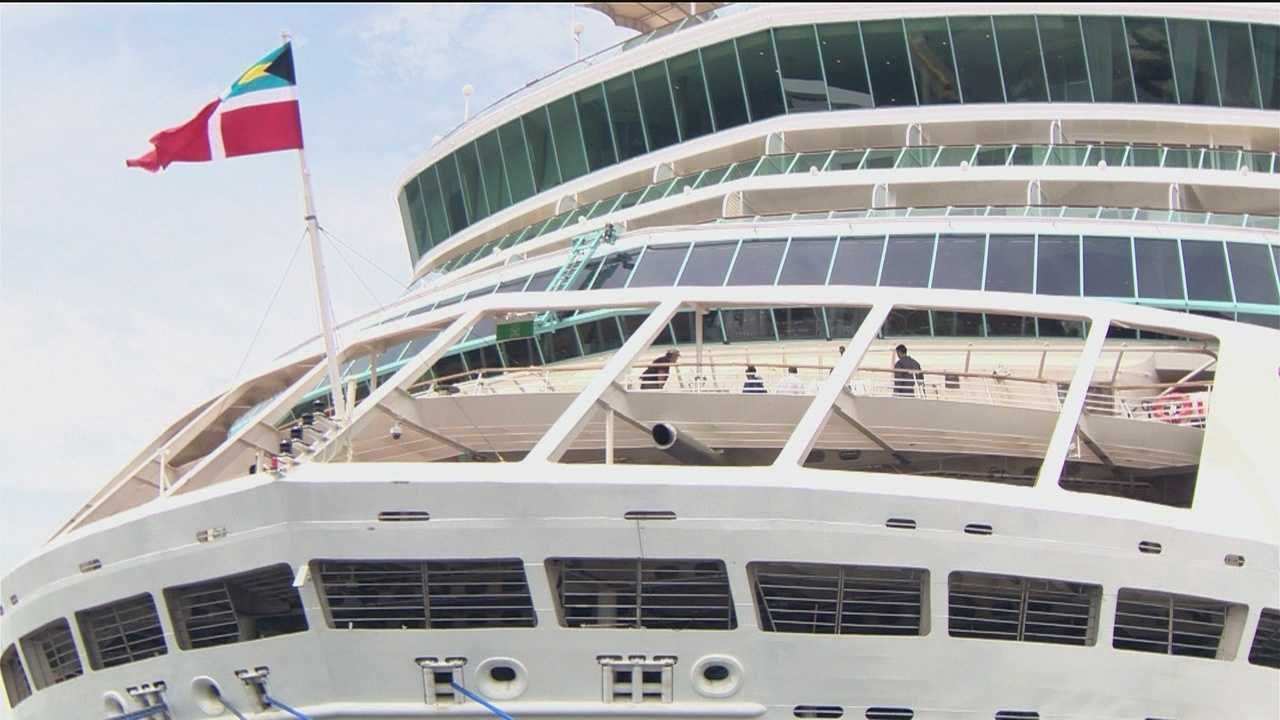 Grandeur of the Seas sails back into Baltimore