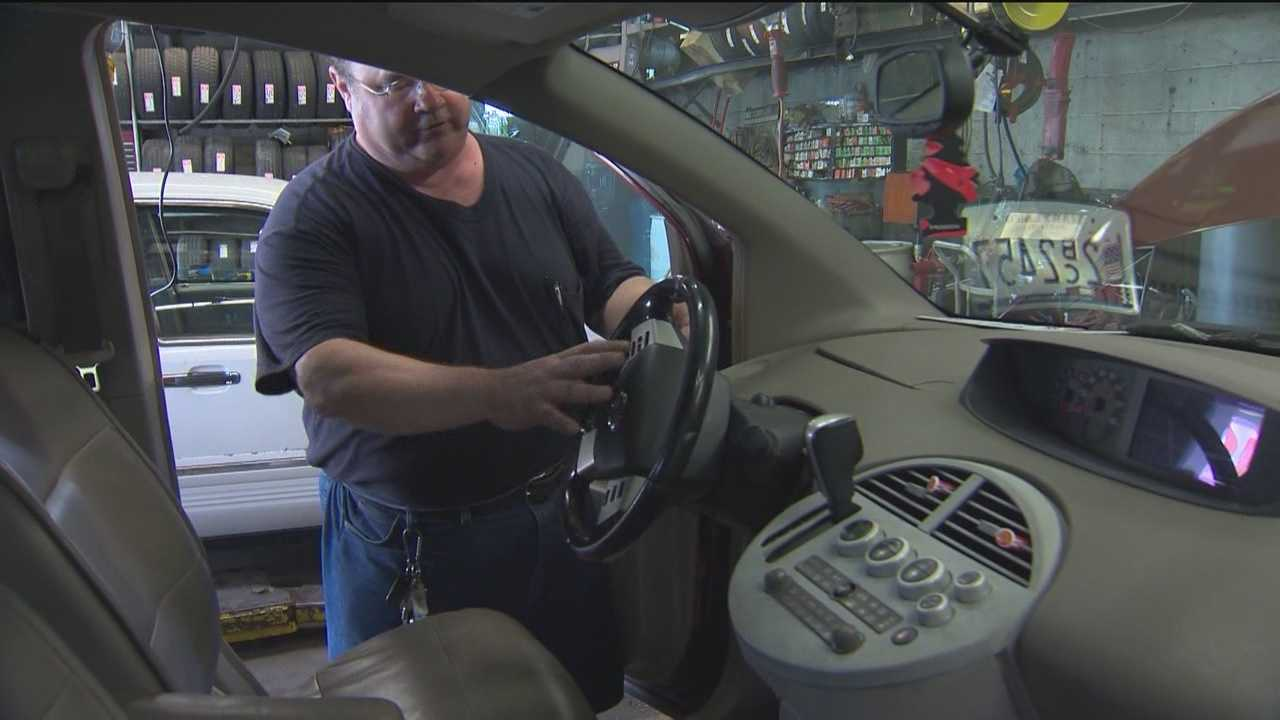 County police probe several air bag thefts