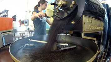 The company roasts small batches in-house, serving up each cup with a smile. It also gives free tours seven days a week.