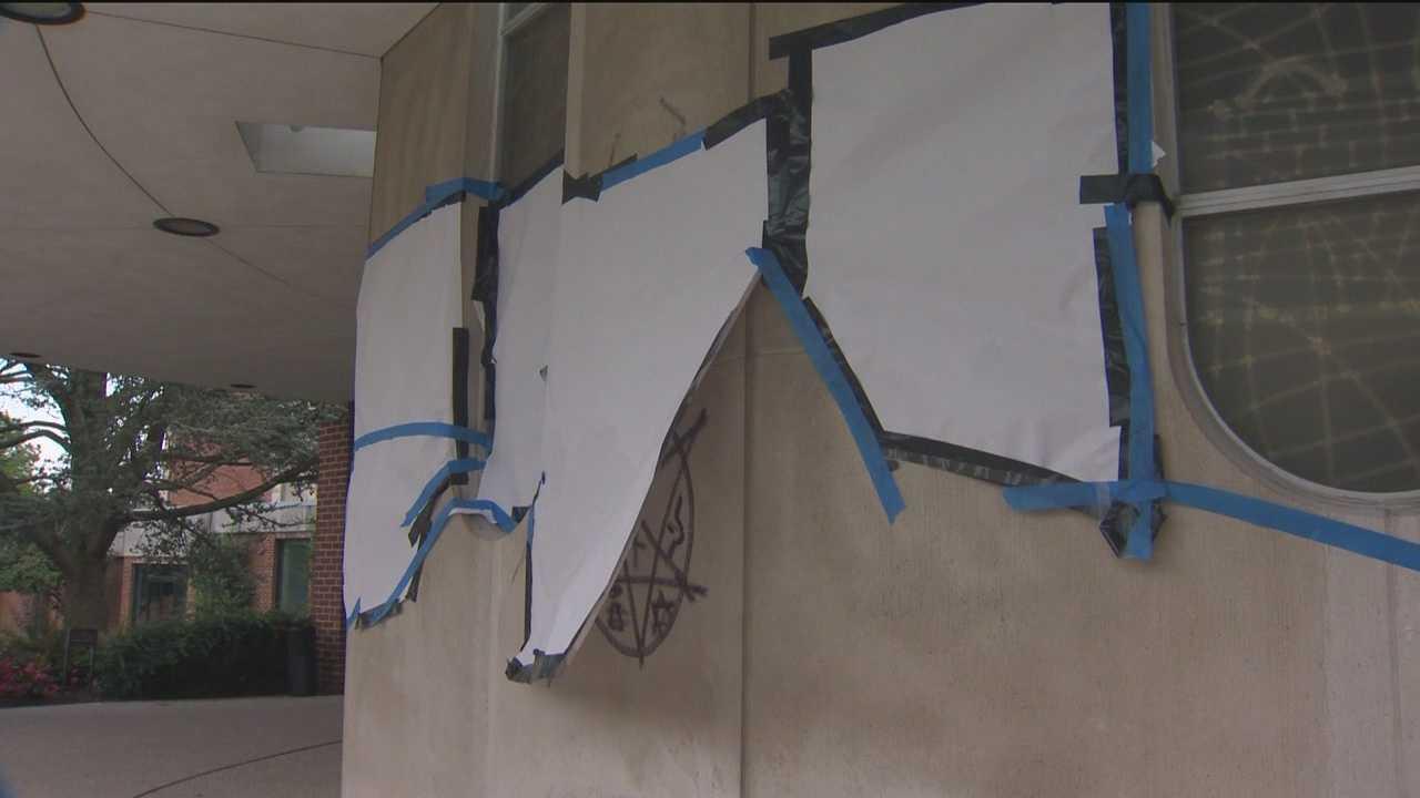 Anti-Semitic, sexually explicit graffiti found in Pikesville
