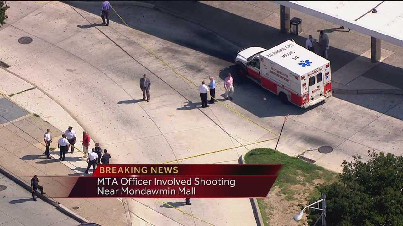 Mondawmin Mall bus station police shooting