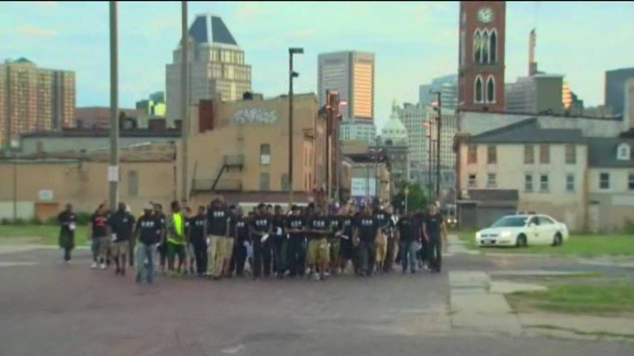 300 Man March aims to make streets safer